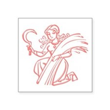 Sign Zodiak Virgo Sticker
