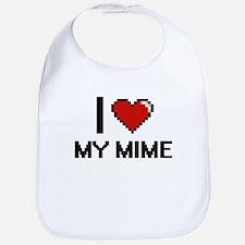I Love My Mime Bib