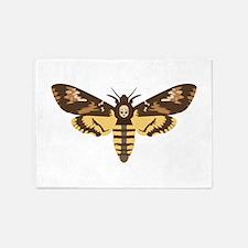 Deaths Head Moth 5'x7'Area Rug