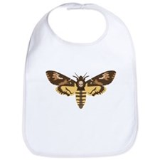 Deaths Head Moth Bib