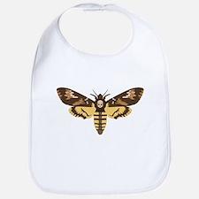 Deaths Head Moth Bib