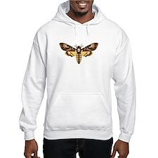 Deaths Head Moth Hoodie