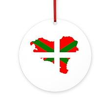 Euskal Herria Ornament (Round)