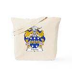 Puerta Family Crest Tote Bag