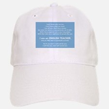 I will find you Punctuate Correctly Baseball Baseball Cap