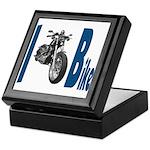 I Bike Keepsake Box