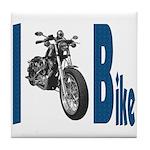 I Bike Tile Coaster