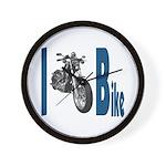 I Bike Wall Clock