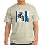 I Bike Ash Grey T-Shirt