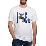 I Bike Fitted T-Shirt