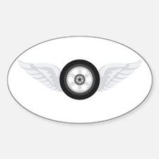 Motorcycle Tire Decal
