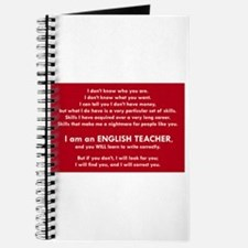 I will find you Write Correctly Journal
