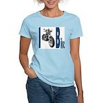 I Bike Women's Pink T-Shirt