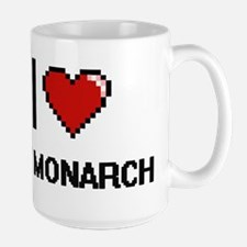I Love My Monarch Mugs