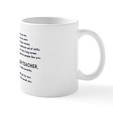 I will find you Write Correctly Mugs