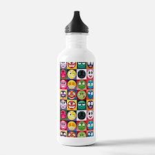emoticon emojis Water Bottle