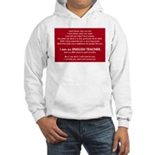 I will find you Spell Correctly Hoodie