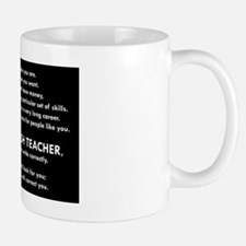 I will find you Write Correctly Mugs