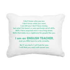 I will find you Write Co Rectangular Canvas Pillow