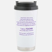 I will find you Follow Stainless Steel Travel Mug
