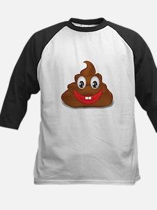 poo emoji Baseball Jersey