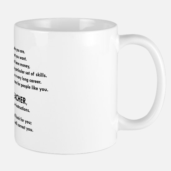 I will find you Follow Instructions Mugs