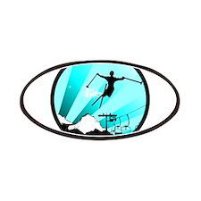 ski jumper Patch