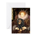 Queen & Cavalier (BT) Greeting Cards (Pk of 20)