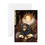 Queen & Cavalier (BT) Greeting Card