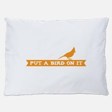 Put a bird on it! (banner) Dog Bed