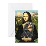 Mona's Cavalier (BT) Greeting Cards (Pk of 20)