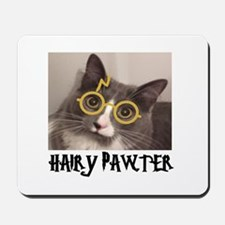 CATS - HAIRY PAWTER Mousepad