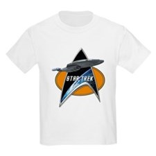 StarTrek Voyager Command Signia Chest 2 T-Shirt