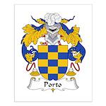 Porto Family Crest Small Poster