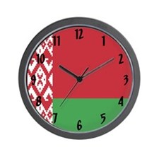 Flag of Belarus Wall Clock