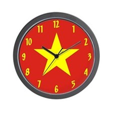 Flag of Vietnam Wall Clock