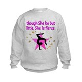 And though she be but little she is fierce Crew Neck