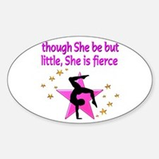 FIERCE GYMNAST Decal
