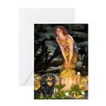 Fairies & Cavalier (BT) Greeting Card