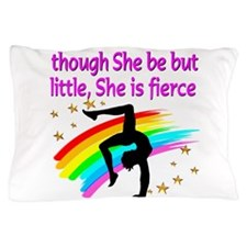 FIERCE GYMNAST Pillow Case