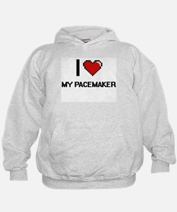 I Love My Pacemaker Hoodie