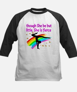 FIERCE GYMNAST Kids Baseball Jersey