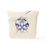 Porras Family Crest Tote Bag