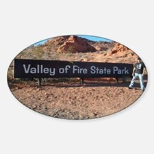 Valley Of Fire State Park Decal