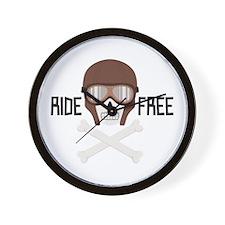 Ride Free Wall Clock