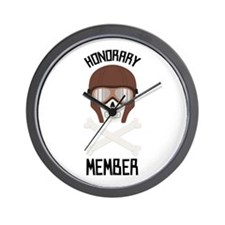 Honorary Member Wall Clock