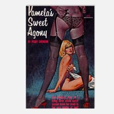 Pamela's Sweet Agony Postcards (Package of 8)