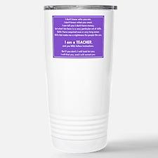 I will find you Follow Travel Mug
