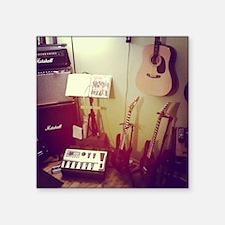 "Music Room Square Sticker 3"" x 3"""