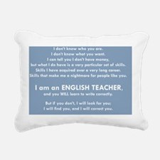 I Will Find You – Write Rectangular Canvas Pillow